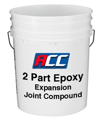 2 Part Epoxy Expansion Joint  Compound (Grey)