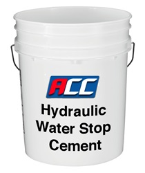 Hydraulic Water Stop Cement-50 lb. Cont.